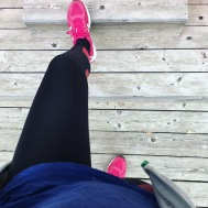 Workout i mina 2XU-tights.
